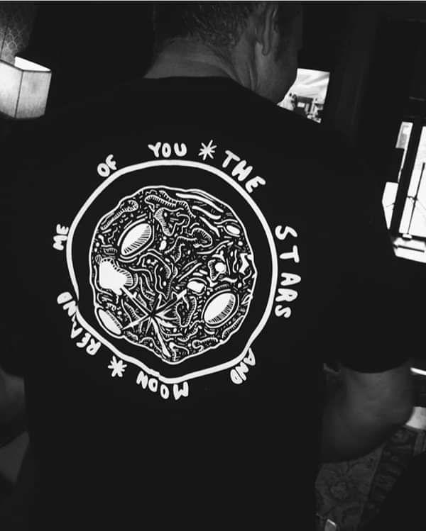 Stars And Moon T-Shirt - SOAK