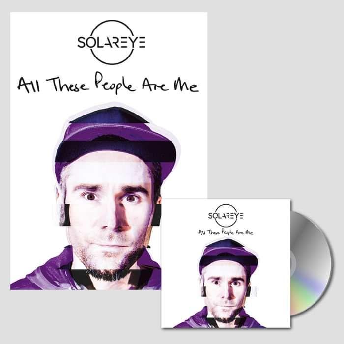 CD (signed) + Print - Solareye