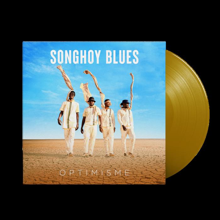 Optimisme - limited gold gatefold LP - Songhoy Blues