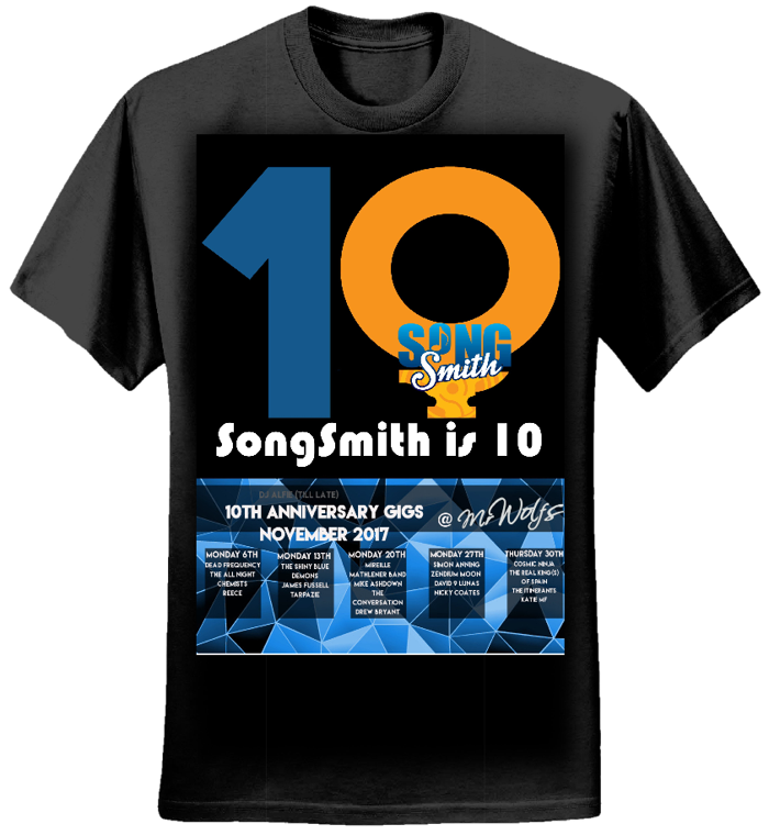 SongSmith is 10 Women's T-Shirt - SongSmith