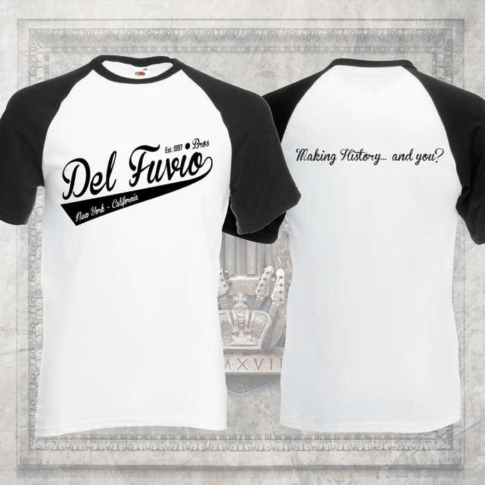 Sons of Apollo - 'Del Fuvio Bros' Baseball T-Shirt - Sons of Apollo