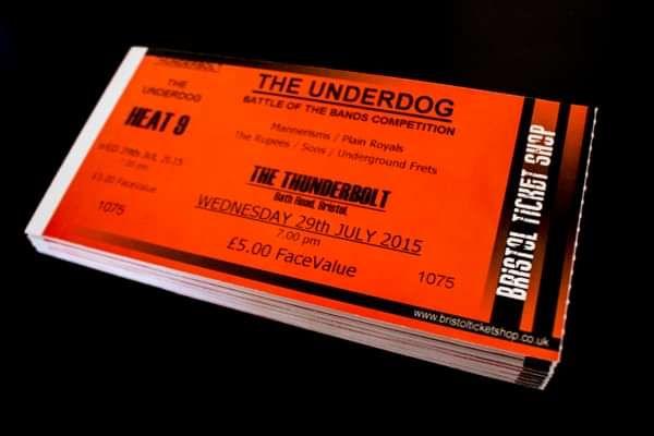 The Underdog - Heat 9 Tickets - Sons.