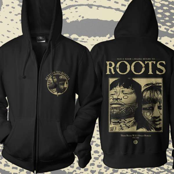 Return to Roots - 'Album' Zipped Hoody - Soulfly