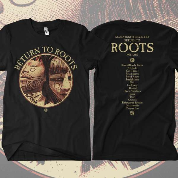 Return to Roots - 'Roots Tracks' T-Shirt - Soulfly