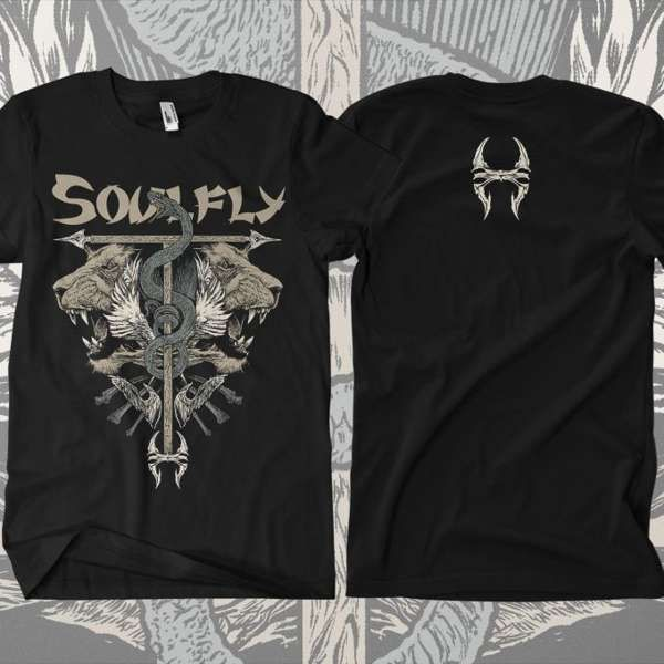 Soulfly - 'Titans' T-Shirt - Soulfly