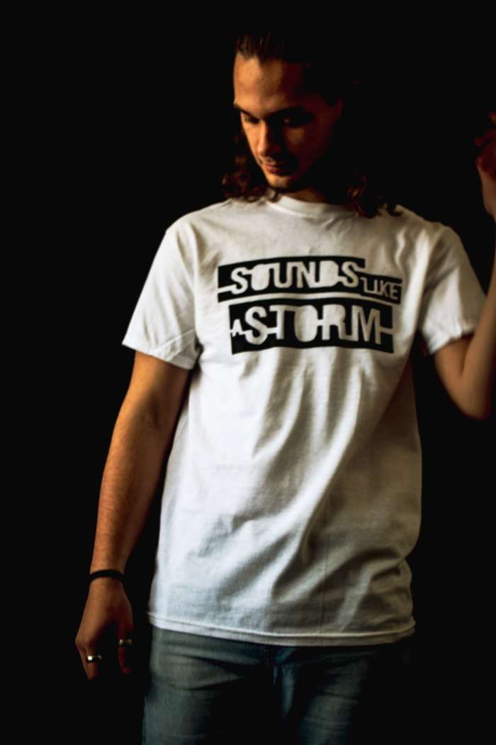 White SLAS Logo Tee - Sounds like a Storm