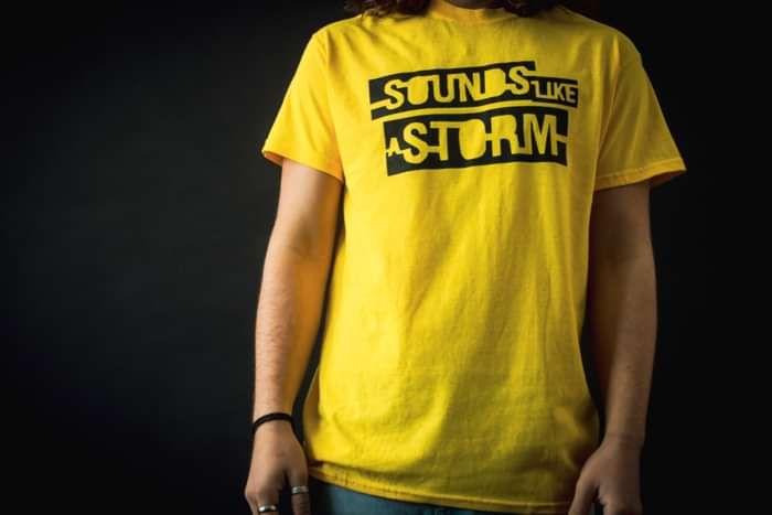 Yellow SLAS Logo Tee - Sounds like a Storm