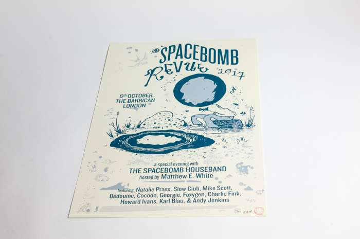 """A Spacebomb Revue in London 2017"" Poster - Spacebomb Records"