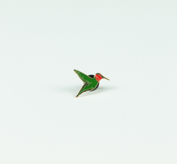 Bedouine – 'Bird Songs of a Killjoy' – Hummingbird enamel pin - Spacebomb Records