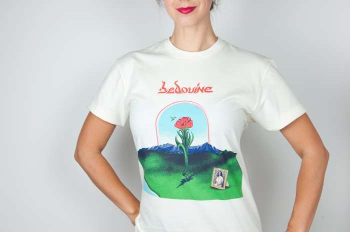 Bedouine – 'Bird Songs of a Killjoy' – T-shirt - Spacebomb Records