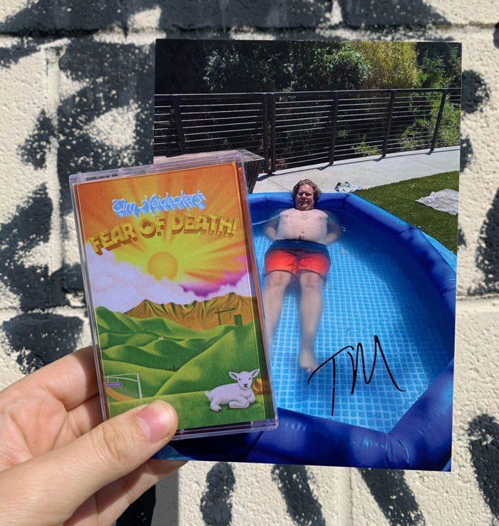Fear of Death — Cassette + Signed Postcard - Spacebomb Records