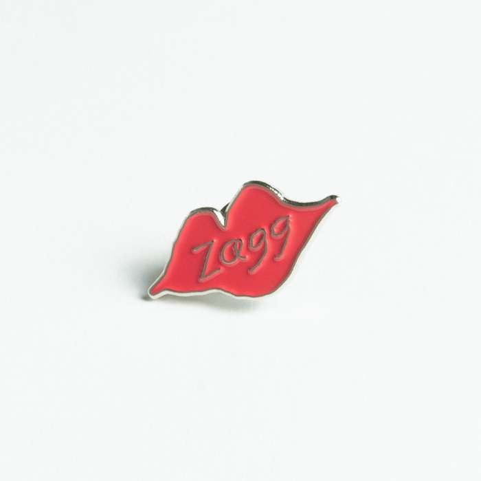 Jackie Cohen – 'Zagg' – Lips enamel pin - Spacebomb Records