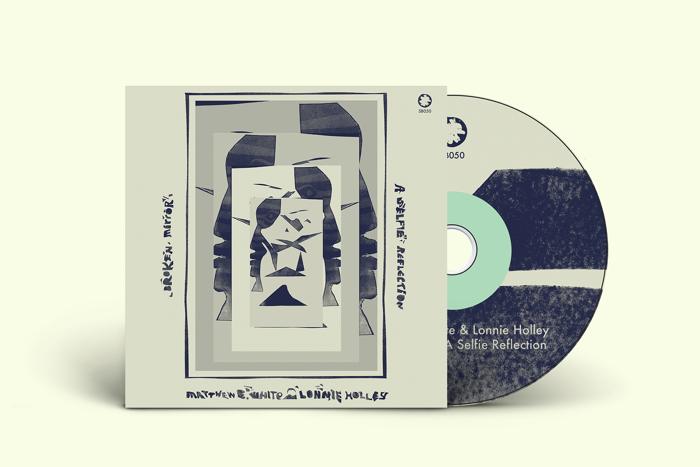 Matthew E. White & Lonnie Holley — 'Broken Mirror: A Selfie Reflection' — CD - Spacebomb Records
