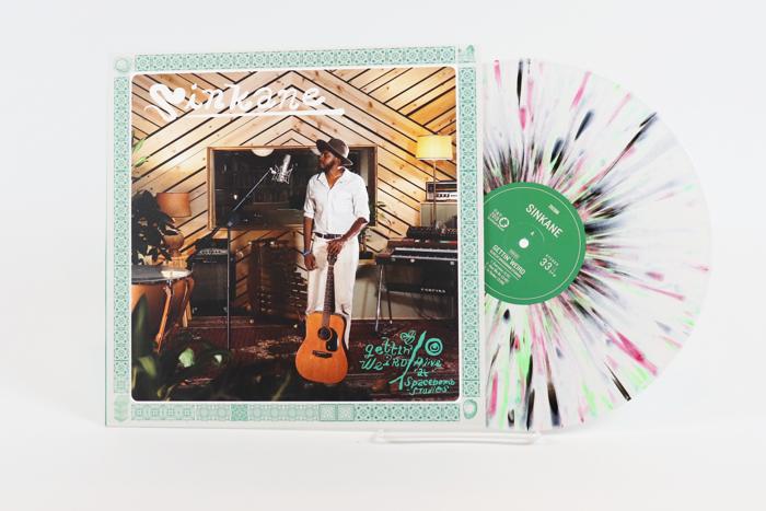 Sinkane – Gettin' Weird (Alive At Spacebomb Studios) – 1970 colorway vinyl - Spacebomb Records