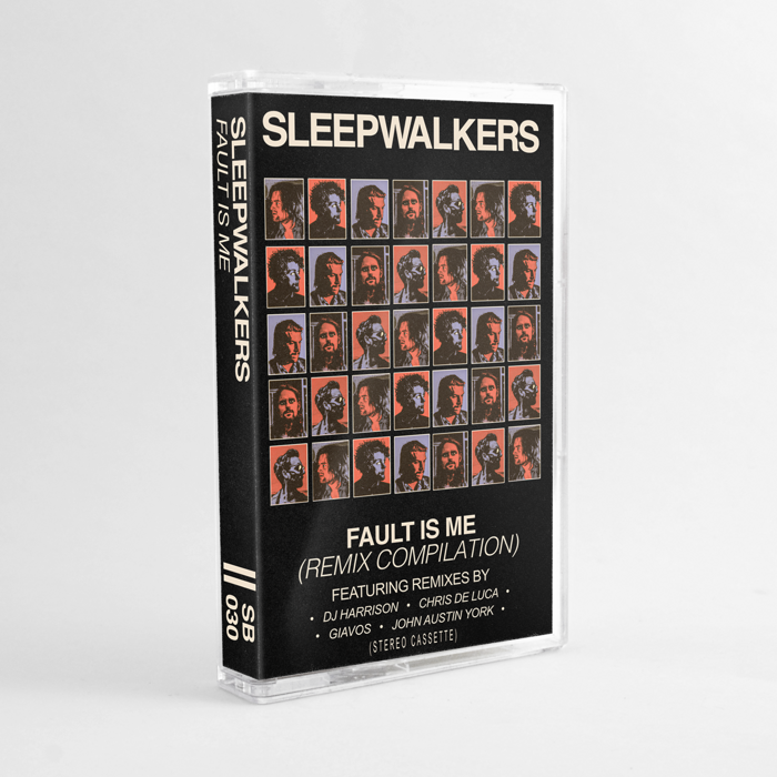 Sleepwalkers – Fault Is Me (Remixes) – Cassette + Digital Download - Spacebomb Records