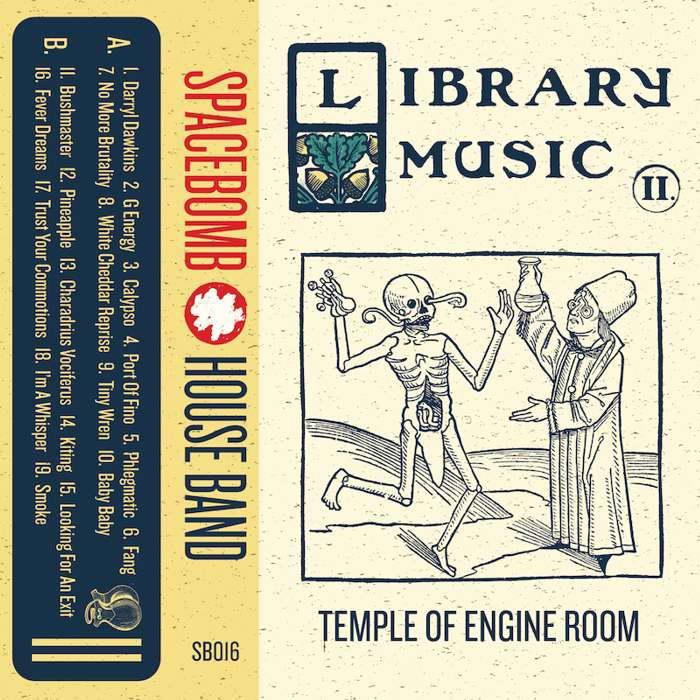 Spacebomb House Band – Library Music II: Temple of Engine Room – Digital Download - Spacebomb Records