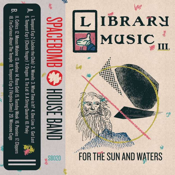 Spacebomb House Band – Library Music III: For the Sun and Waters – Digital Download - Spacebomb Records