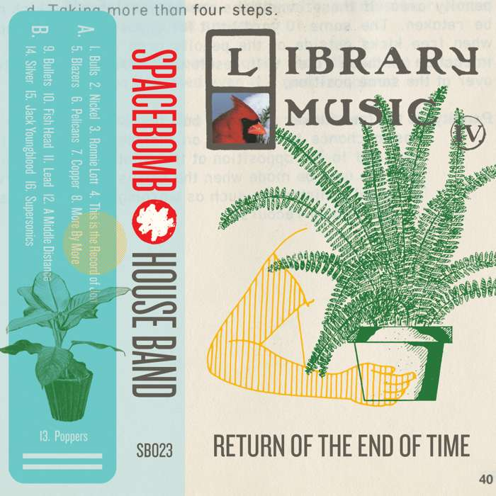 Spacebomb House Band – Library Music IV: Return of the End of Time – Digital Download - Spacebomb Records