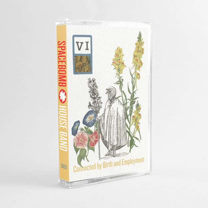 Spacebomb House Band – VI: Connected by Birth and Employment – Cassette - Spacebomb Records