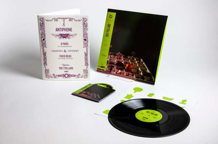 Trey Pollard – 'Antiphone' – Album + Sheet Music Book Bundle - Spacebomb Records
