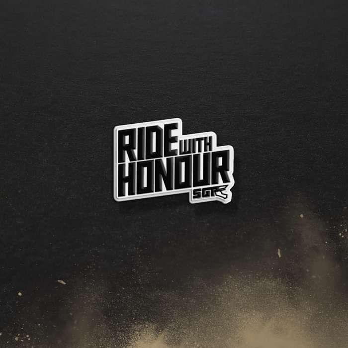 'Honour' Enamel Badge - Speedway GP