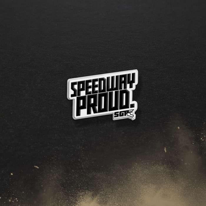 'Proud' Enamel Badge - Speedway GP