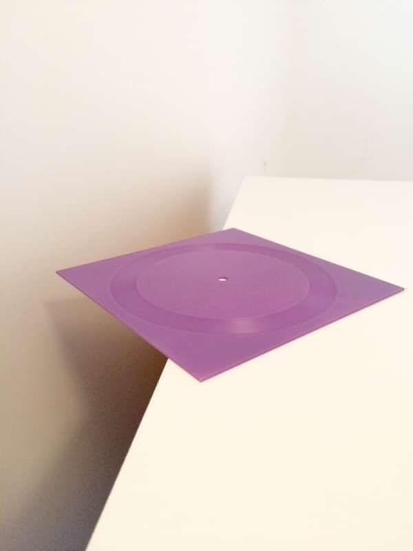 """Semi Precious - Purple Room [7"""" Square Record] - squareglass"""