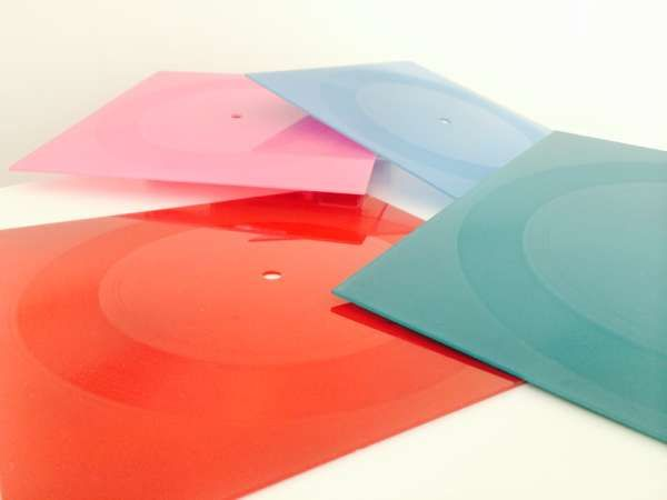 """squareglass 1st Anniversary Limited Edition Re-issues [7"""" Square Vinyl with Digital Download] - squareglass"""