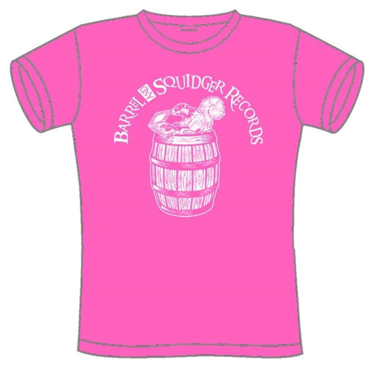 Barrel And Squidger Records - Ladies' T-shirt - Barrel And Squidger Records