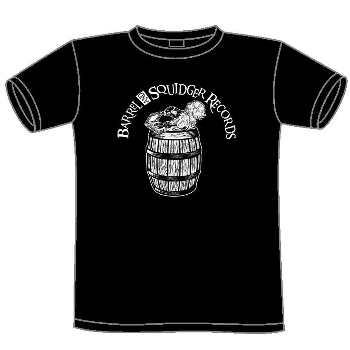 Barrel And Squidger Records - Male/Unisex T-shirt - Barrel And Squidger Records