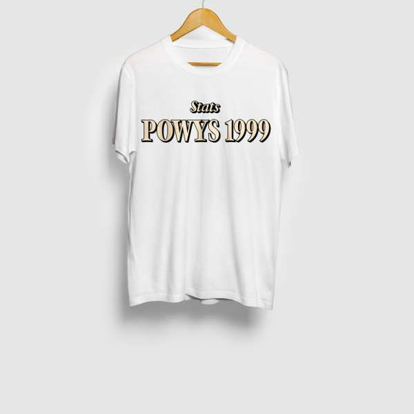 Powys 1999 Download and T-shirt Bundle - Stats