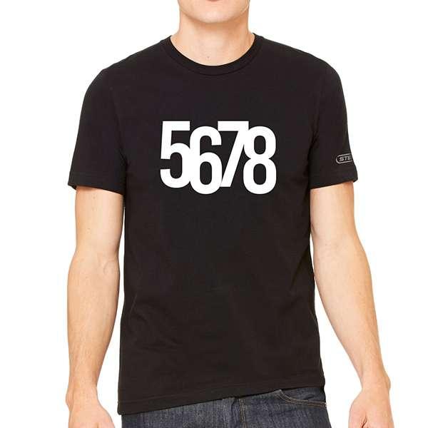 Steps 5678 Black T-Shirt - Steps [Global UK]
