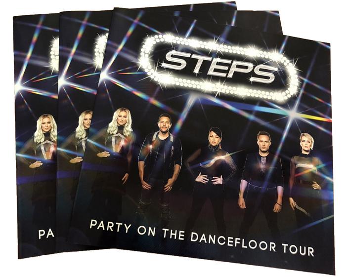 Steps Party On The Dancefloor Programme - Steps [Global UK]