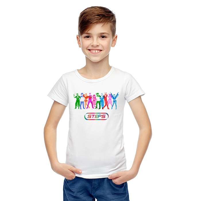 Steps Rainbow Cowboy T-Shirt (kids) - Steps [Global UK]