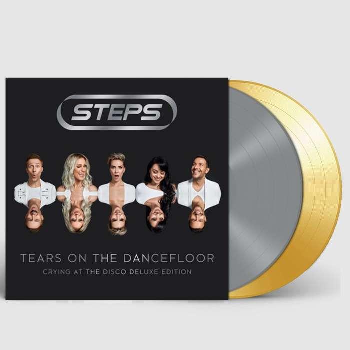 TEARS ON THE DANCEFLOOR: 'GLITTER & GOLD' DOUBLE VINYL - Steps