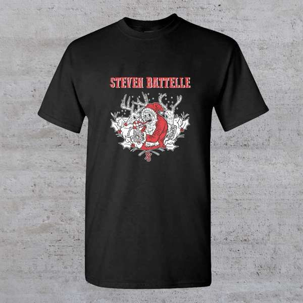A Christmas Cartel T-Shirt [2nd Limited Run] - Steven Battelle