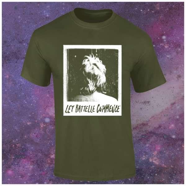 Let Battelle Commence [T-Shirt]  (Military Green) - Steven Battelle