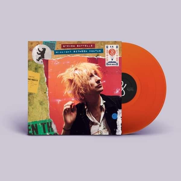 Midnight Between Months - Orange Vinyl - Steven Battelle