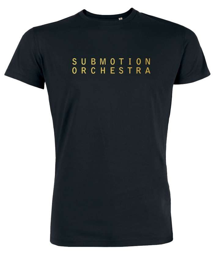Submotion Orchestra Black & Gold T-Shirt - Submotion Orchestra