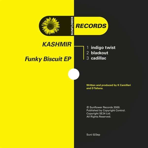 Kashmir - Funky Biscuit [SUNI023] - Sunflower Records