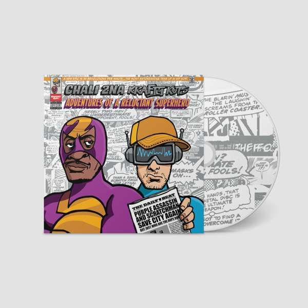 Adventures Of A Reluctant Superhero (CD) - Chali 2na & Krafty Kuts