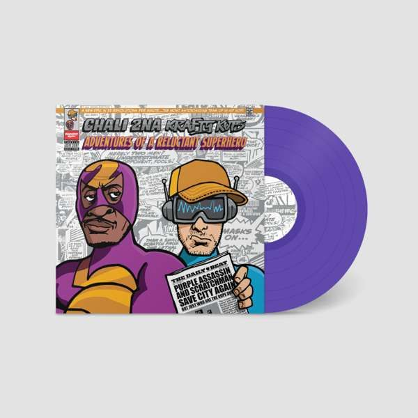 Adventures Of A Reluctant Superhero (Purple Vinyl LP) - Chali 2na & Krafty Kuts