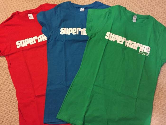 T-Shirt - Supermarine Music