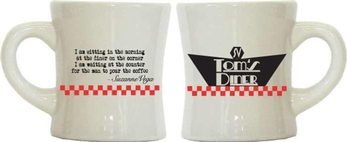 Toms Diner Mug - Suzanne Vega