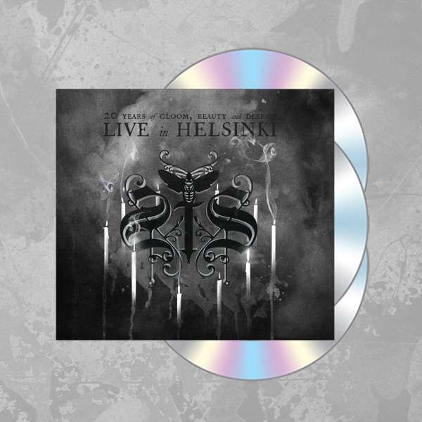 Swallow The Sun - '20 Years of Gloom Beauty and Despair - Live in Helsinki' Ltd. 2CD+DVD Digipak - Swallow The Sun