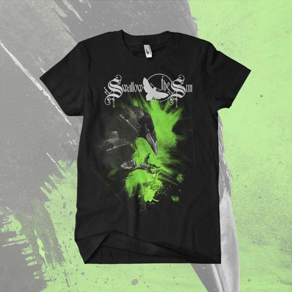 Swallow The Sun - 'Blackbird' T-Shirt - Swallow The Sun