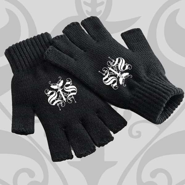Swallow The Sun - 'Logo' Fingerless Gloves - Swallow The Sun