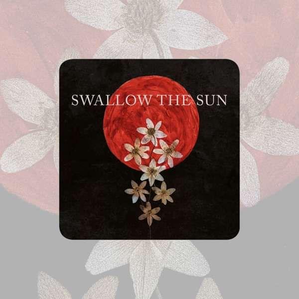 Swallow The Sun - 'Moonflowers' Coaster - Swallow The Sun