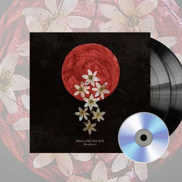 Swallow The Sun - 'Moonflowers' Gatefold Black 2LP+CD - Swallow The Sun