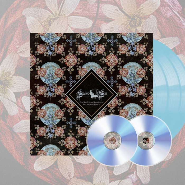 Swallow The Sun - 'Moonflowers' Ltd. Deluxe Sky Blue 3LP+2CD & Art Print Box Set - Swallow The Sun
